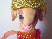marionnette au chapeau gros plan stage arts plastiques Marseille